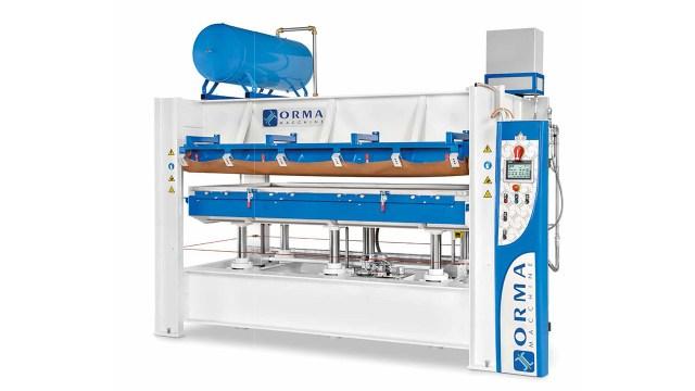 Универсальный мембранно-вакуумный пресс OMNIA, производство ORMA Macchine (Италия)