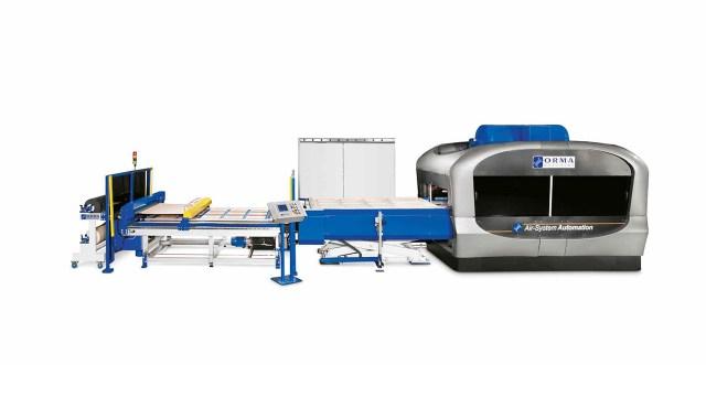 Мембранный пресс с 2 загрузочными лотками AUTOMATION 2 TRAYS, производство ORMA Macchine (Италия)