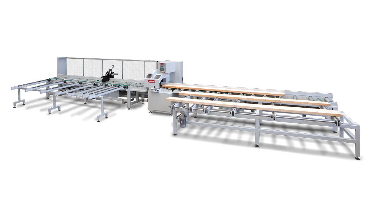 Торцовочные станки для лесопиления модели R700, R800, RO500, производство Bottene Италия