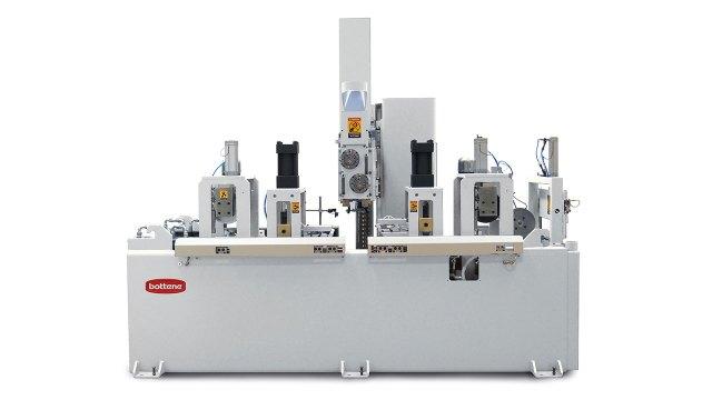 Установка торцевого сращивания на мини-шип COMPACT, производство Bottene (Италия)
