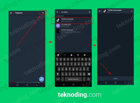 Cara Download Video Tiktok Lewat Chat Bot Telegram 2020