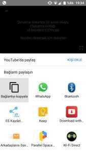 youtube telefondan programsız video indirme
