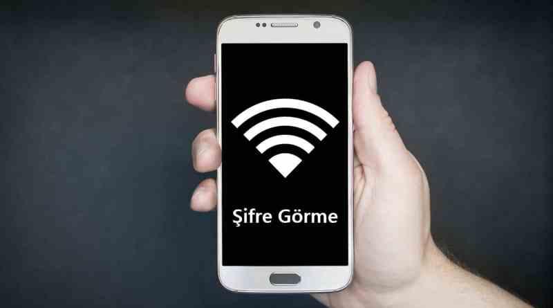 telefonda kayıtlı wifi şifresi görüntüleme