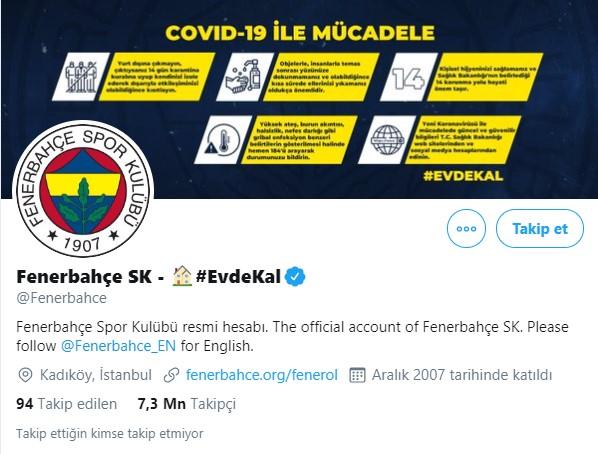 Fenerbahçe (7.3 Milyon)