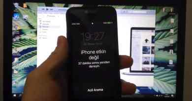 iphone şifremi unuttum nasıl sıfırlarım