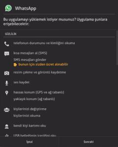 tablete whatsapp yükleme nasıl yapılır 2018