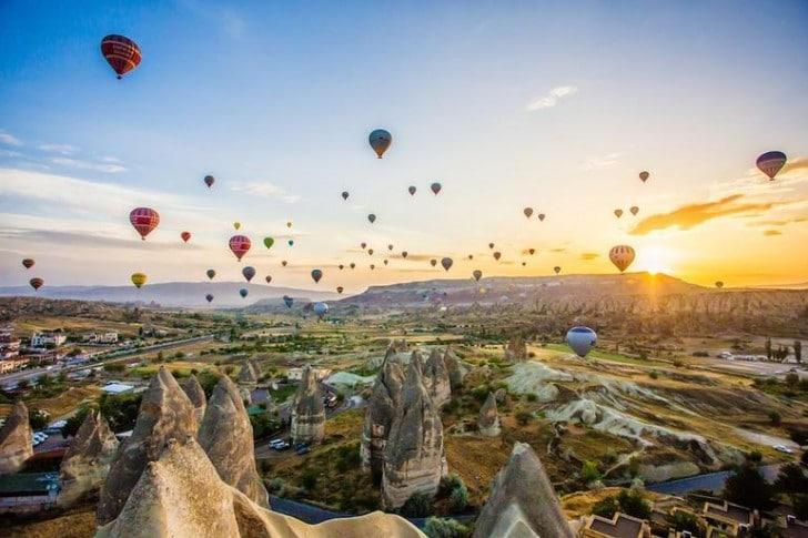 kapadokya ucan balonlari