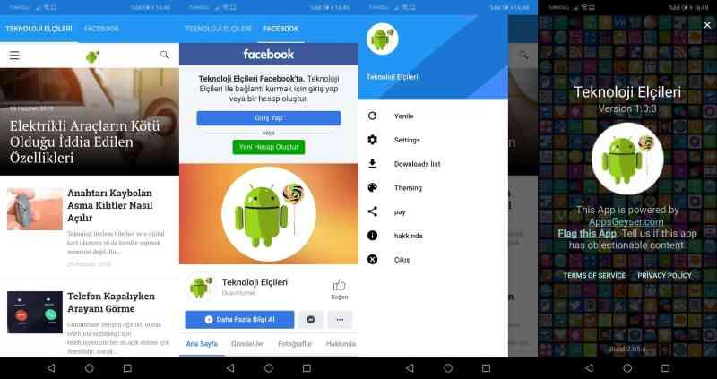 kodlama bilmeden yapılan android uygulaması
