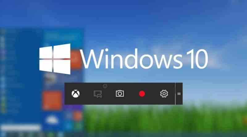 Windows 10'da Programsız Ekran Videosu Alma