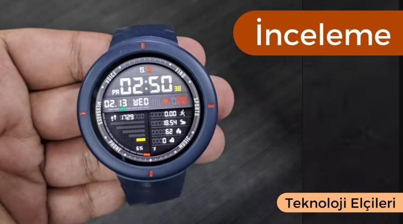 Türkiye'yi Yok Sayan Saat! Xiaomi Amazfit Verge GPS'li Akıllı Saat İncelemesi