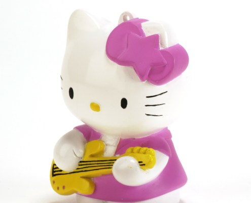 HELLO KITTY ROCK LED light 8cm with hand-strap 4