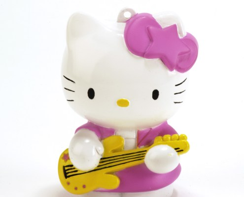 HELLO KITTY ROCK LED light 8cm with hand-strap 3