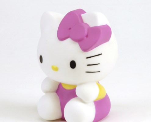 Hello Kitty Light-up 3D figure cute 3in 3