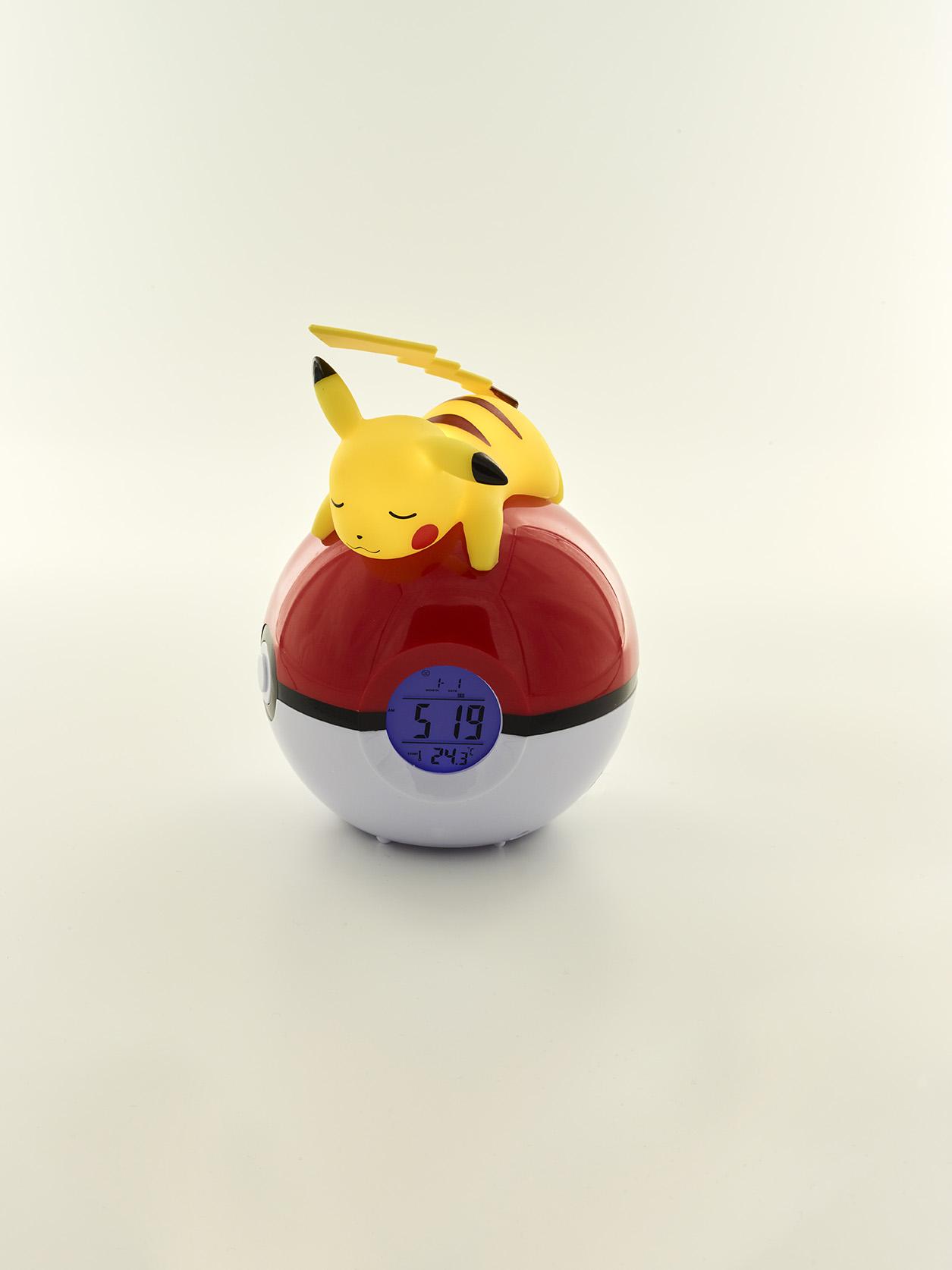 Pokémon Pikachu night light and alarm clock 3