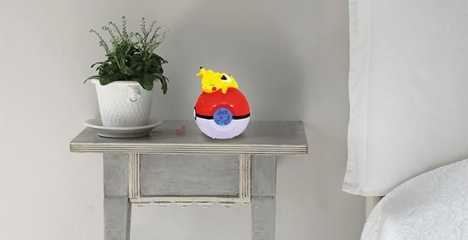 Pokémon Pikachu night light and alarm clock 5
