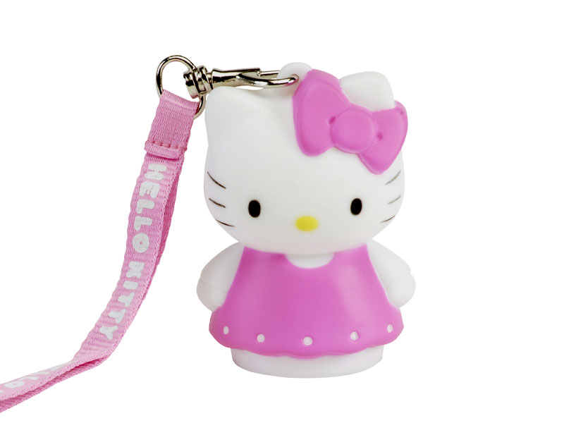 Forskellige HELLO KITTY DRESS LED light 8cm with hand-strap - Madcow OU71