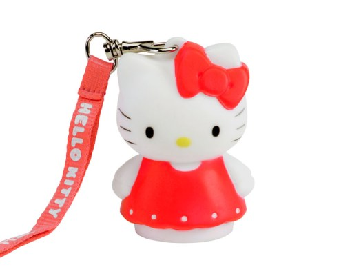 Lampe LED décorative 8cm Hello Kitty Robe Rouge 2