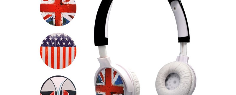 Headphones TRAVEL with 3 interchangeable faceplates 1