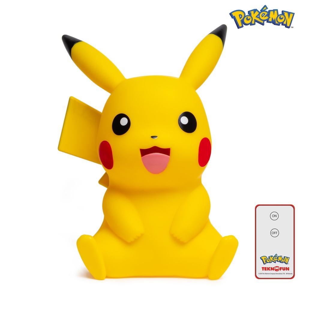 Lampe LED pokémon pikachu 40cm