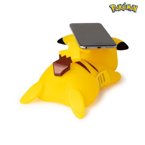 chargeur sans fil pokémon pikachu 9cm arrière