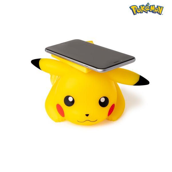 chargeur sans fil pokémon pikachu