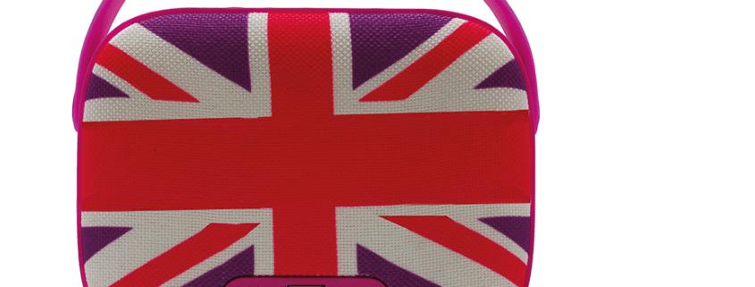 Wireless Speaker UK Pink 1