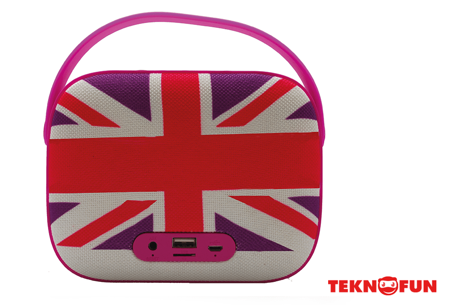 Wireless Speaker UK Pink 1