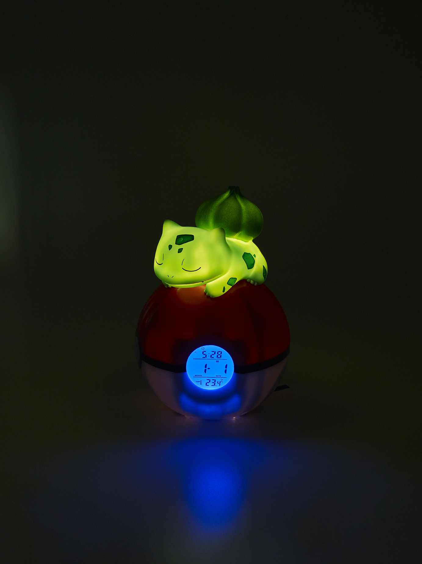 Pokémon Bulbasaur Night light and Alarm Clock 4