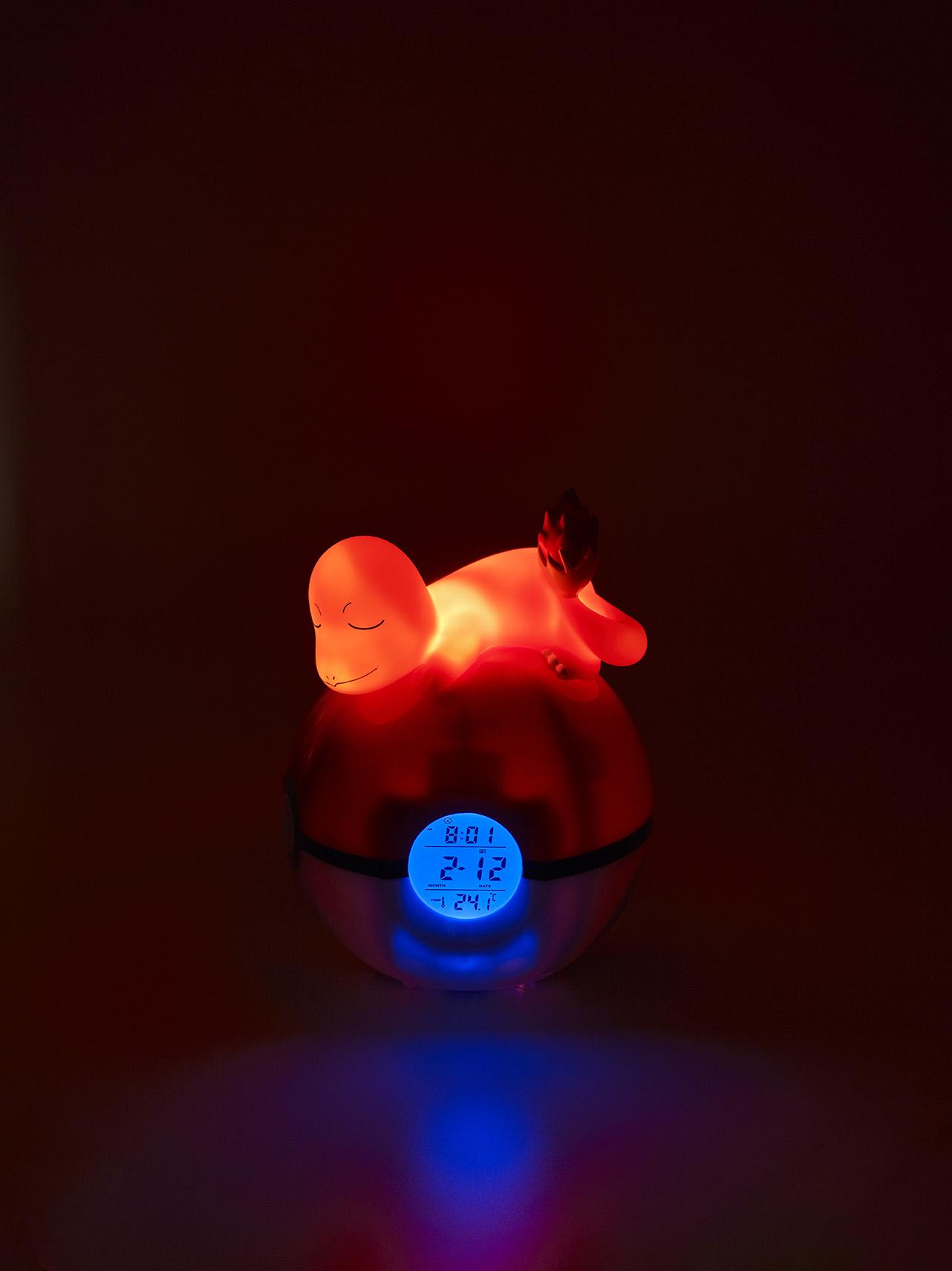 Radio-réveil lumineux numérique Pokémon Salamèche 4