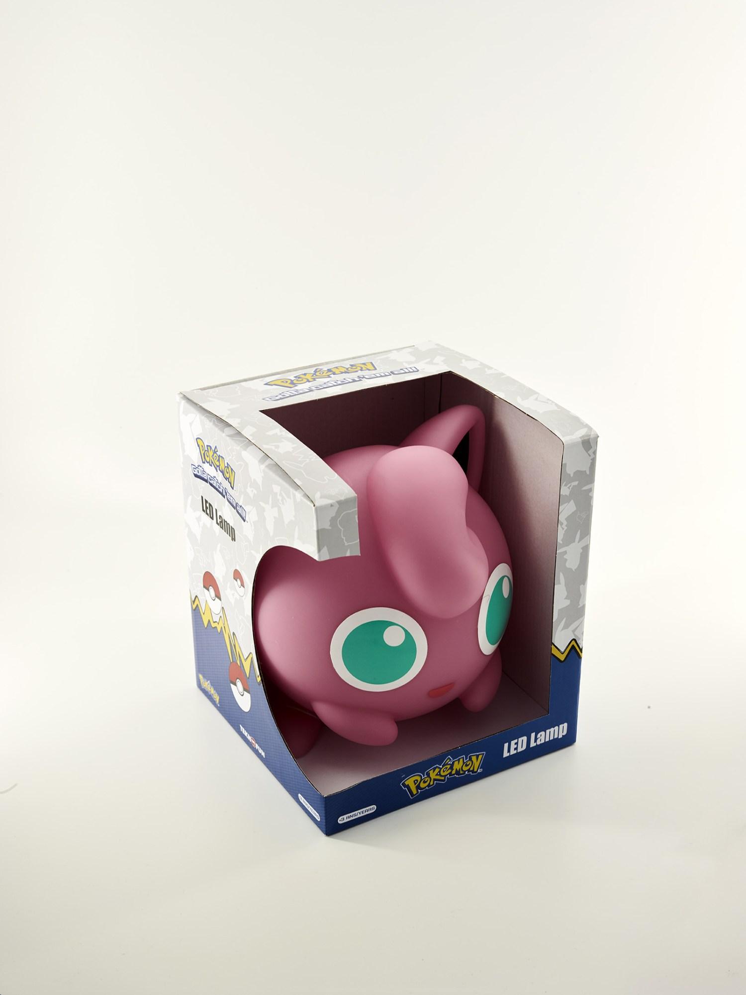 Pokémon Jigglypuff 25cm LED Lamp 5