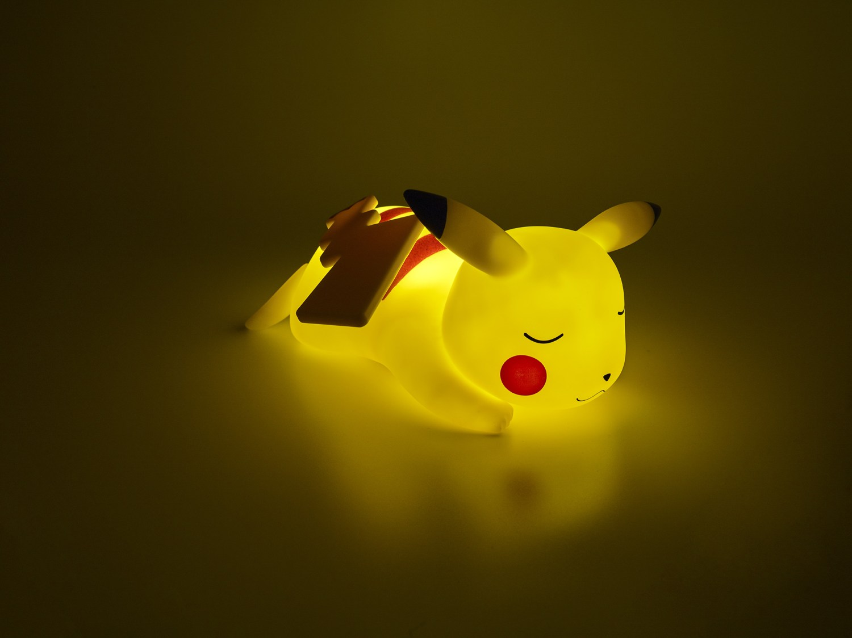 Lampe LED Pokémon Pikachu couché 25cm 4