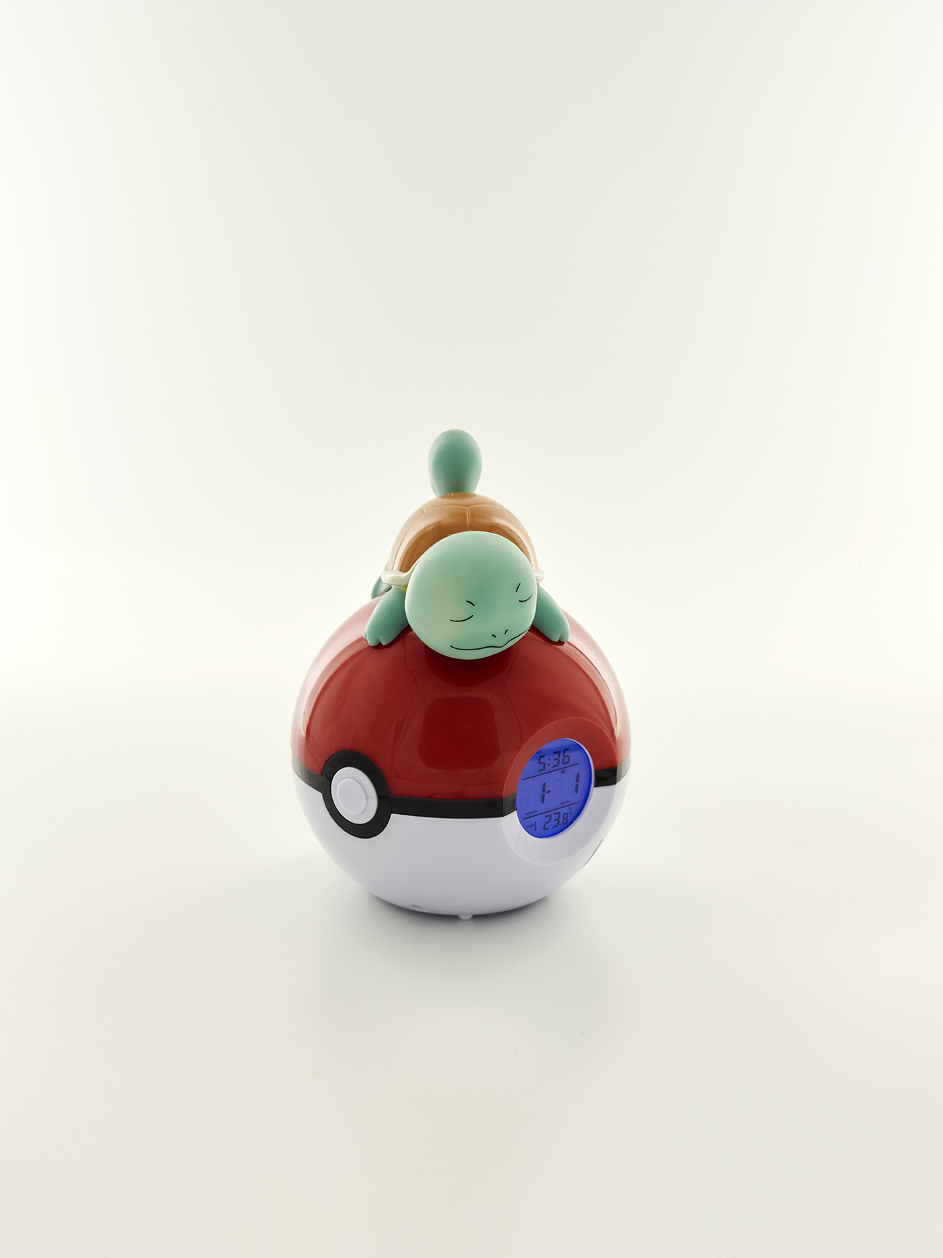 Pokémon Squirtle Light-up 3D figure FM Alarm Clock 2