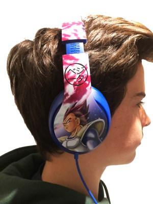 Dragon Ball Z Headphones 7