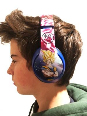 Dragon Ball Z Headphones 5