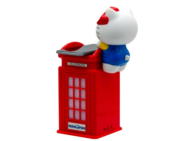 Hello Kitty Wireless Charger London Phone Booth 4
