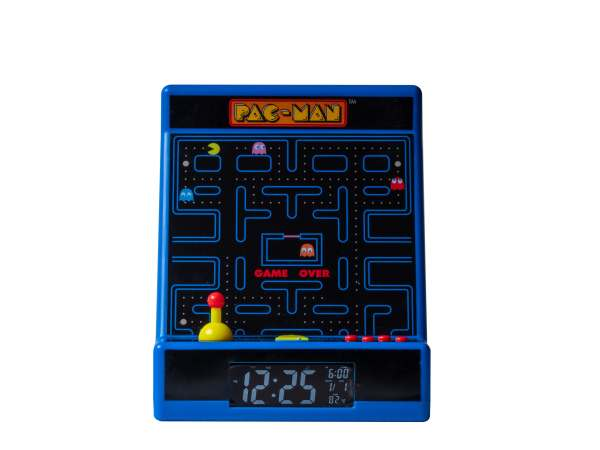 Pac-Man Arcade Station Alarm Clock 4
