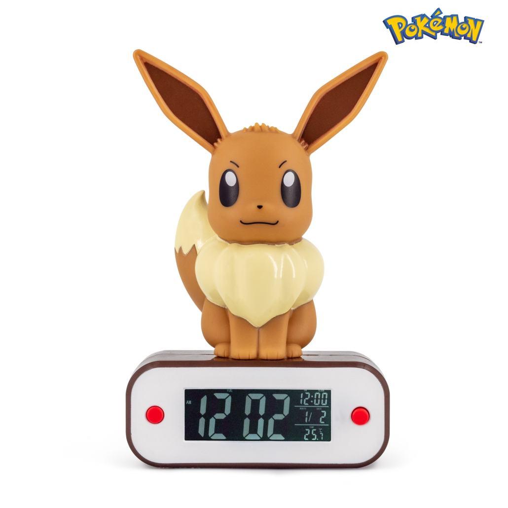 Pokémon Eevee Light-up 3D figure Alarm Clock 1
