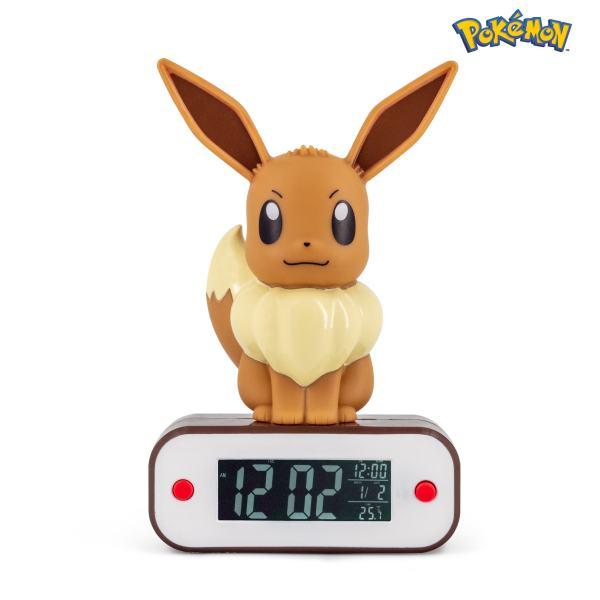 Pokémon Eevee Light-up 3D figure Alarm Clock 2