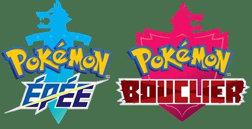 logos pokémon épée et bouclier