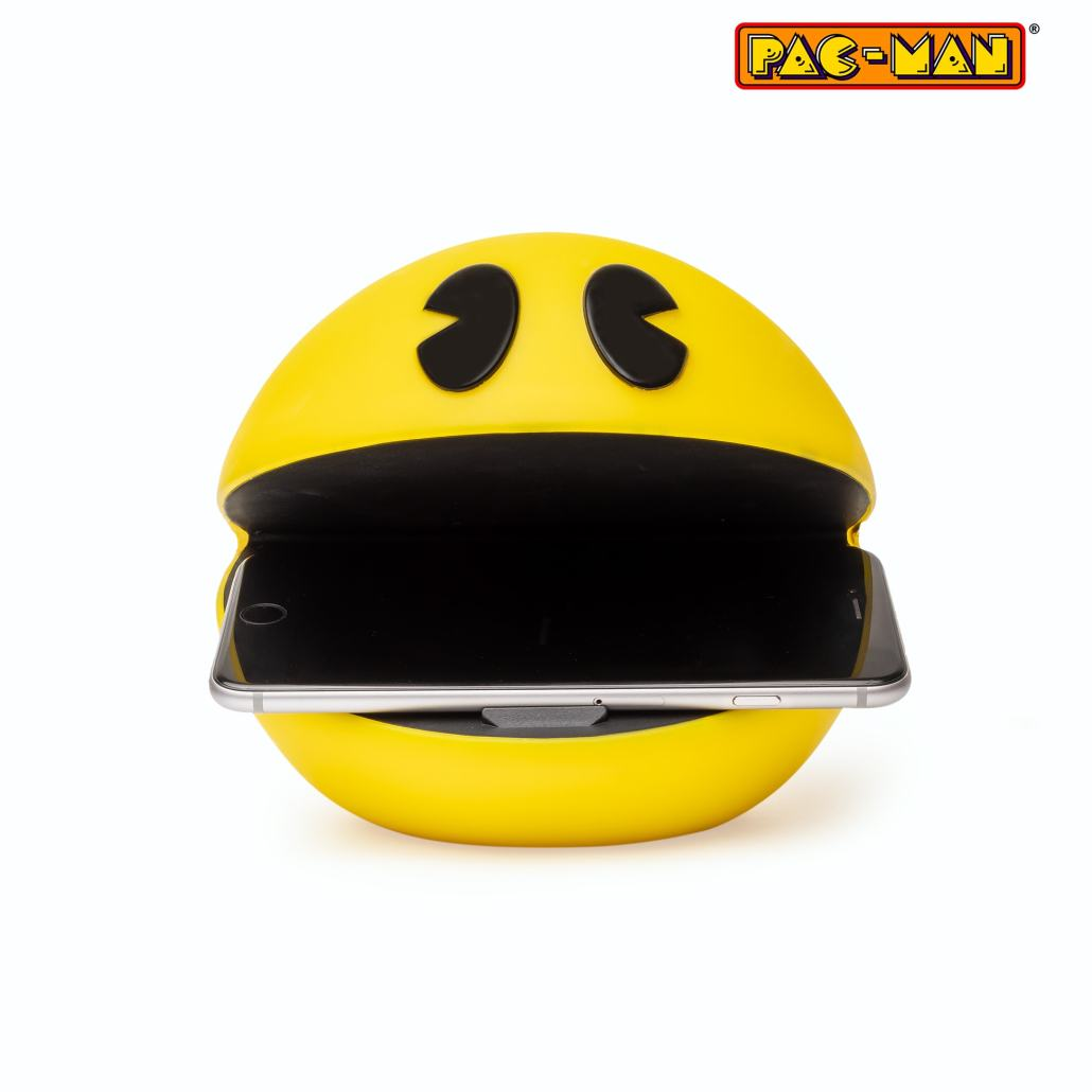 Pac-Man 3D face Wireless Charger 1