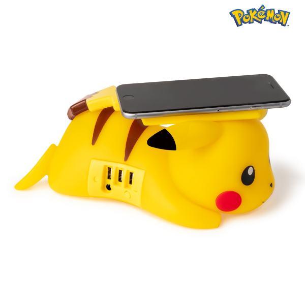 Cargador inalámbrico de smartphone Pikachu 3