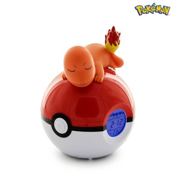 Radio-despertador Luminoso Pokémon Charmander 3