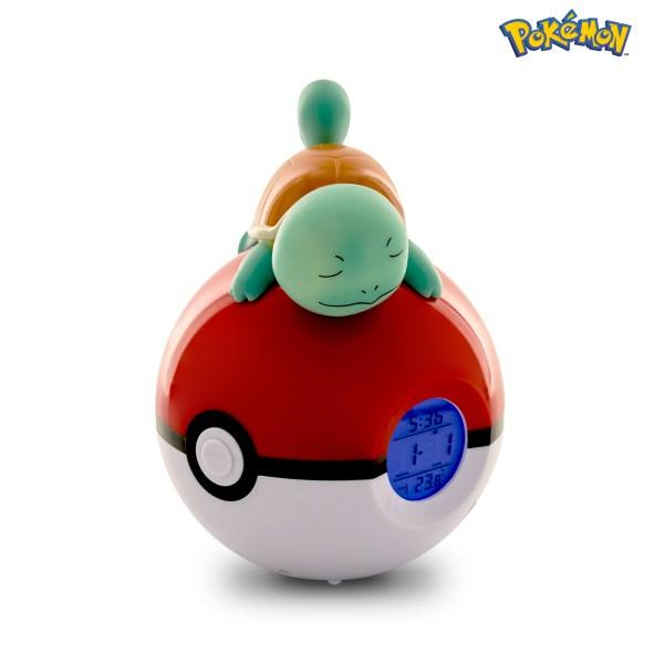 Radio despertador Luminoso Pokémon Squirtle 3