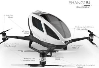 Pilotsuz Helikopter CES 2016 Sürprizleri Arasında