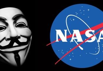 Anonymus NASA'yı Hacklediğini İddia Ediyor!
