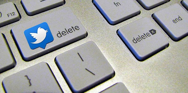 Twitter Kalıcı Hesap Silme