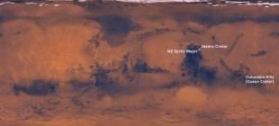 NASA, Mars'ta Yaşanabilecek Üç Araziyi Tespit Etti!
