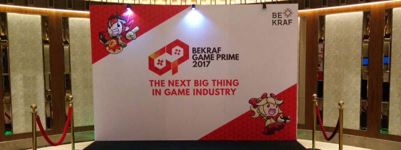 BEKRAF Game Prime Business Day 2017 Header