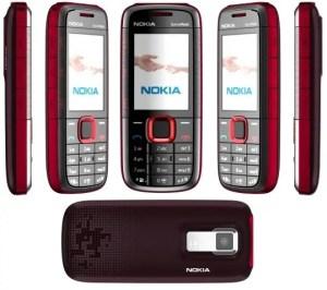 Muonekano wa Nokia 5130 xpressmusic