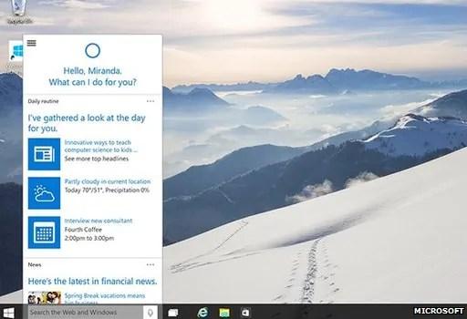 Utumiaji wa Cortana